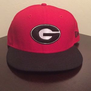Georgia Bulldogs Fitted Hat - 7 1/4